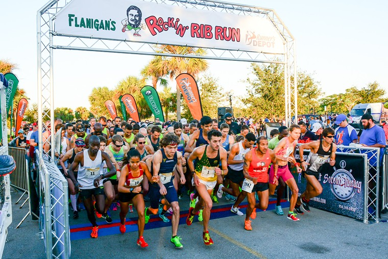 Run for your health (and some ribs) on Sunday. - FLANIGAN'S