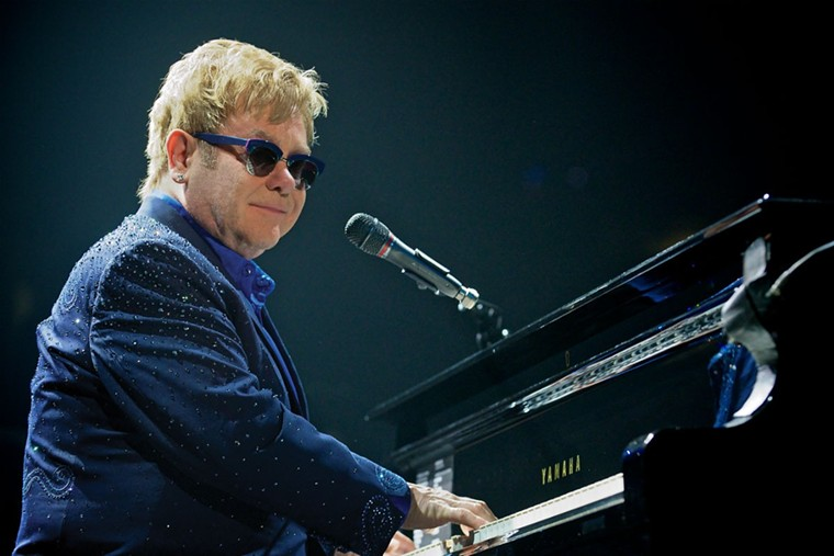 Elton John - PHOTO BY ANDREW POTTER