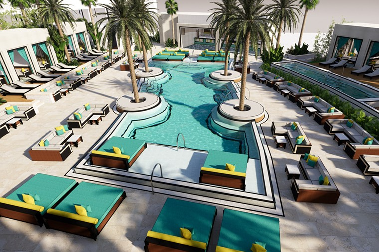 The day club is only part of the new Daer South Florida at Hard Rock Hollywood. - PHOTO COURTESY OF SEMINOLE HARD ROCK HOTEL & CASINO