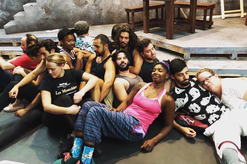 The cast of MNM Theatre Company's Man of La Mancha. - PHOTO COURTESY MNM THEATRE COMPANY