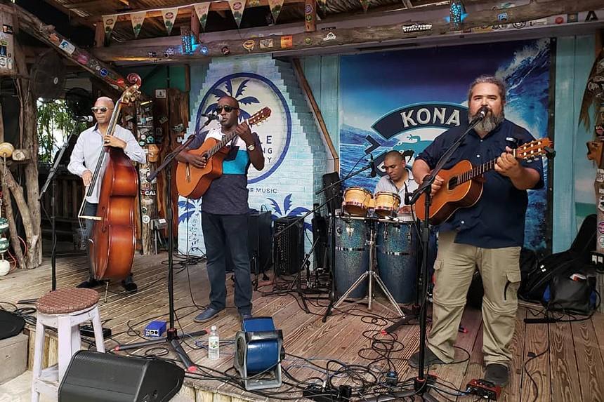 The trio Cortadito plays Friday at the Arts Garage. - PHOTO COURTESY OF CORTADITO