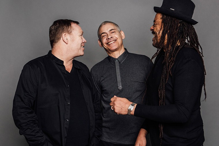 UB40 stops in Boca Raton's Mizner Park as part of the band's 40th-anniversary tour. - PHOTO COURTESY OF UB40