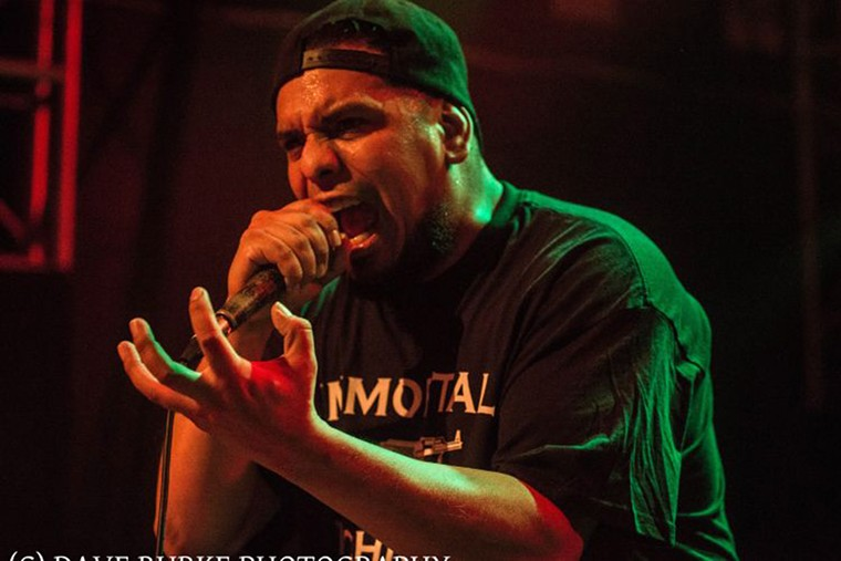 Immortal Technique will headline a night of hardcore rap Thursday at Respectable Street. - PHOTO BY DAVE BURKE