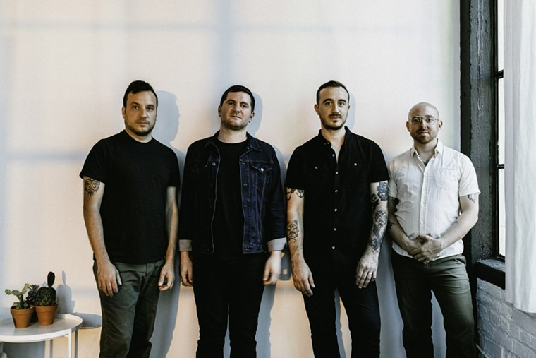 The Menzingers invade Fort Lauderdale with Sunday's show at Culture Room. - PHOTO BY JESS FLYNN