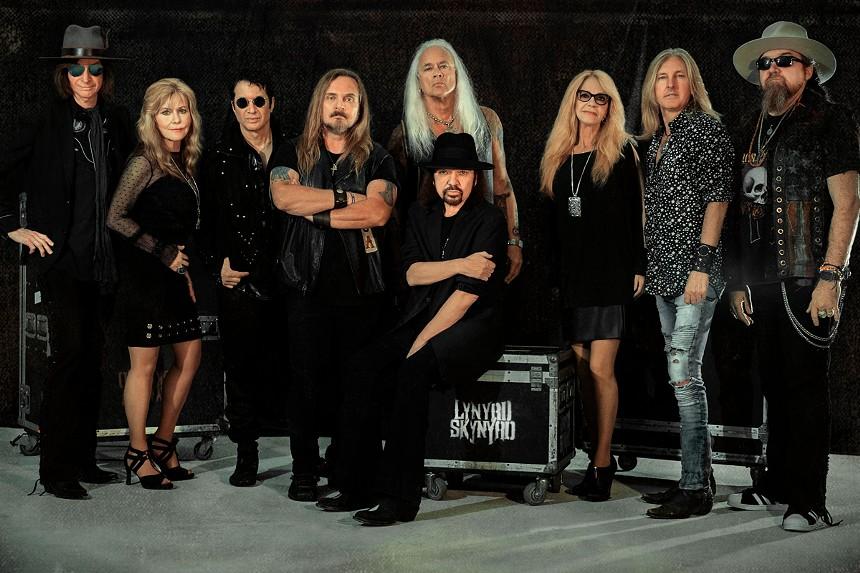 Lynyrd Skynyrd brings its farewell tour to Seminole Hard Rock Resort & Casino on Saturday night. - PHOTO COURTESY LYNYRD SKYNYRD
