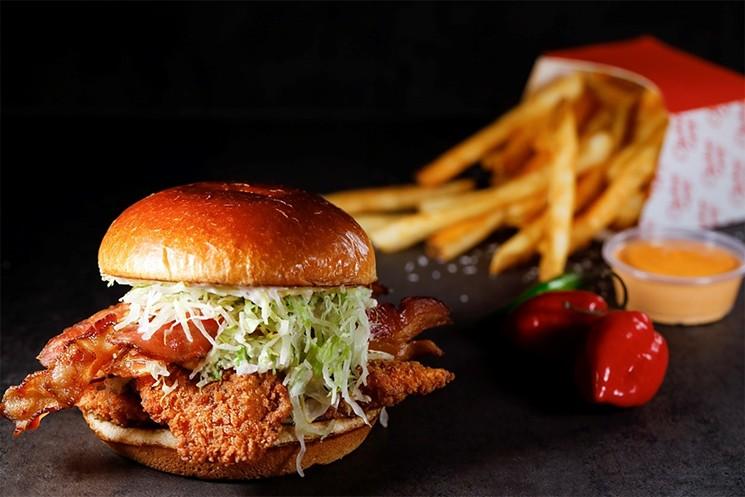 A Chicken Guy! sandwich - PHOTO COURTESY OF CHICKEN GUY!