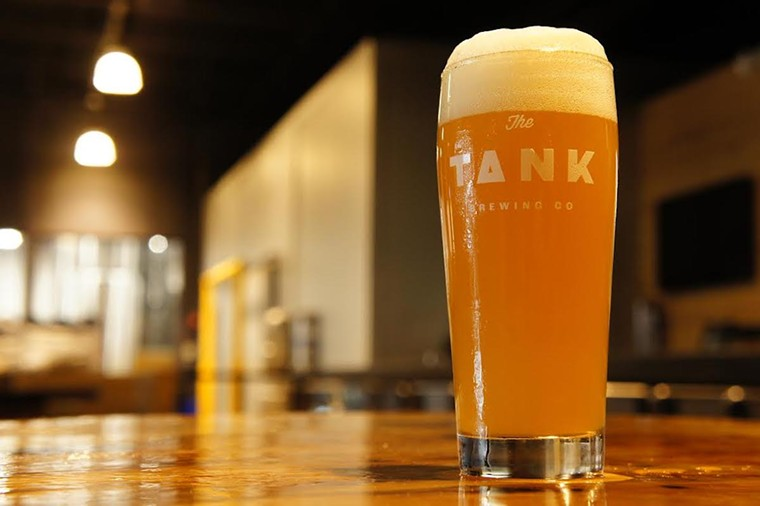 COURTESY OF THE TANK BREWING CO.
